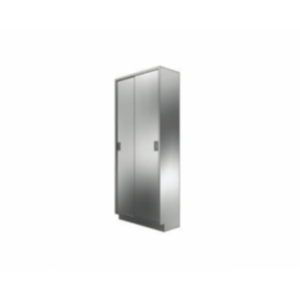 Stainless Cabinetry - Solid Sliding Door Tall Unit