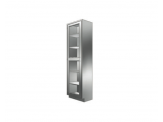 Stainless Cabinetry - Framed Glass Hinged Door Tall Unit - Single door