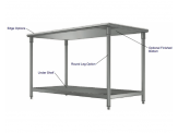 Stainless Cabinetry - Work Table - Island