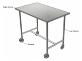 Stainless Cabinetry - Work Table - Portable