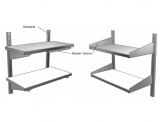 Stainless Cabinetry - Shelving - Wall Bracket