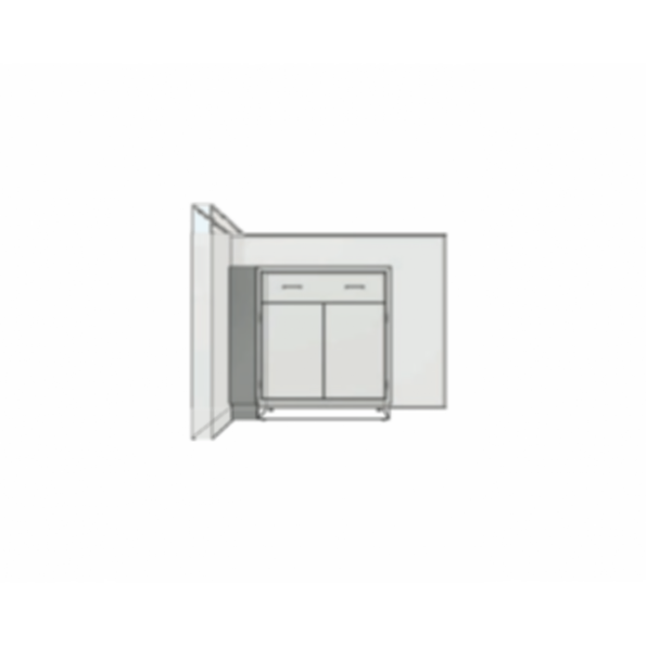 Stainless Cabinetry - Base Cabinet End Scribe