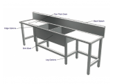 Stainless Cabinetry - Scullery Sink - Free Standing