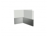 Stainless Cabinetry - Trim - Wainscot