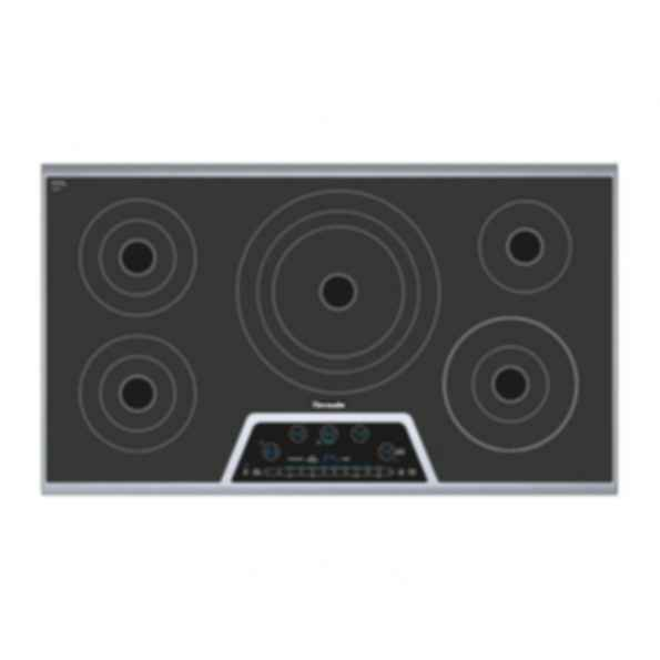 36 inch Masterpiece Series Electric Cooktop CET365NS