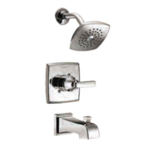 Monitor® 14 Series Tub & Shower Trim with Touch-Clean® Raincan Showerhead - Chrome