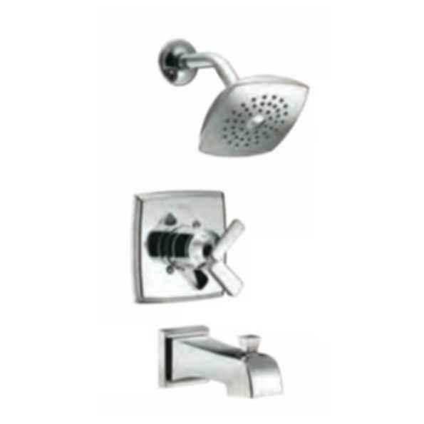 Monitor 17 Series Tub & Shower Trim with Touch-Clean Raincan Showerhead - Chrome