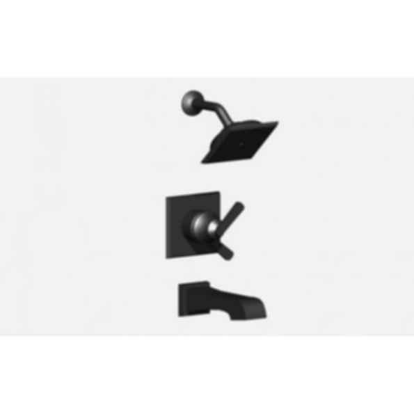 Monitor 17 Series Tub & Shower Trim with Touch-Clean Raincan Showerhead - Venetian Bronze®