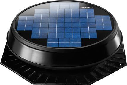 Solar Star Attic Fan Rm 1600 Roof Mount Modlar Com