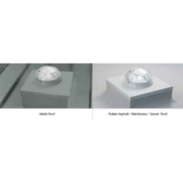Brighten Up® Series - 290 DS/DSe Daylighting System Curb Mount Flashing