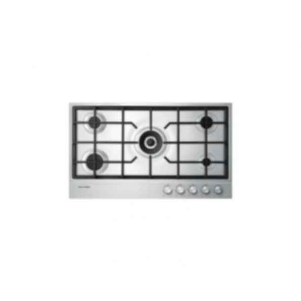 "36"" Gas on Steel Cooktop CG365DNGX1"