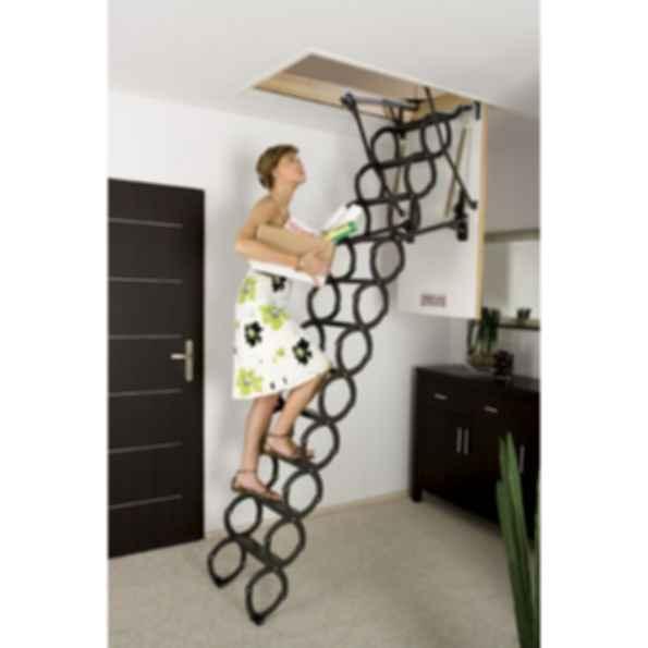 Attic Ladder Scissor insulated FAKRO