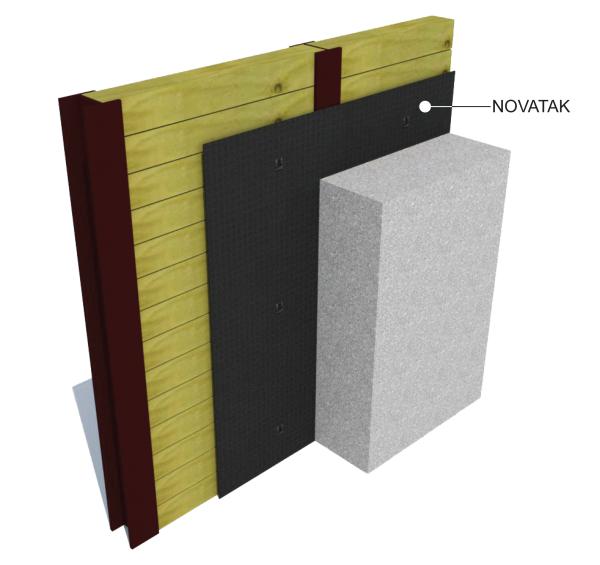 Sheet Applied Waterproofing Membrane : Novatak pre applied waterproofing membrane modlar