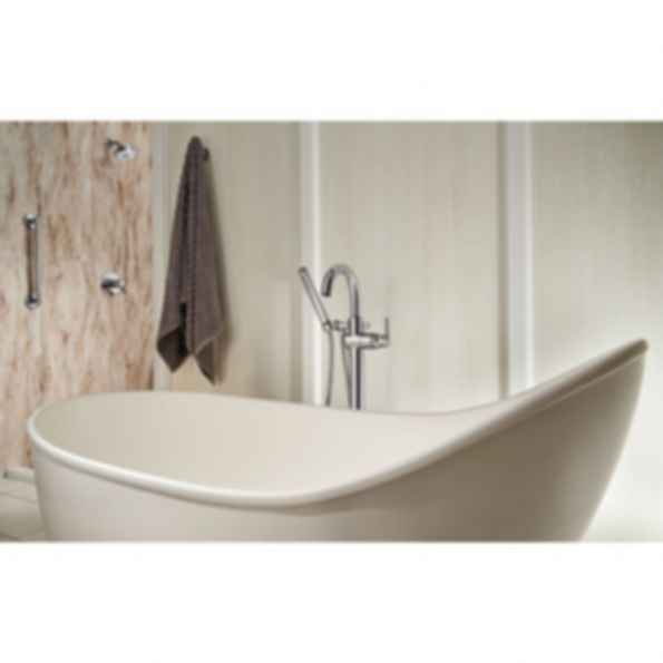 Floor Mount Tub Filler -T4759-FL