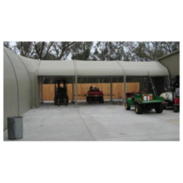 Vestibules & Corridors - Sprung Structures