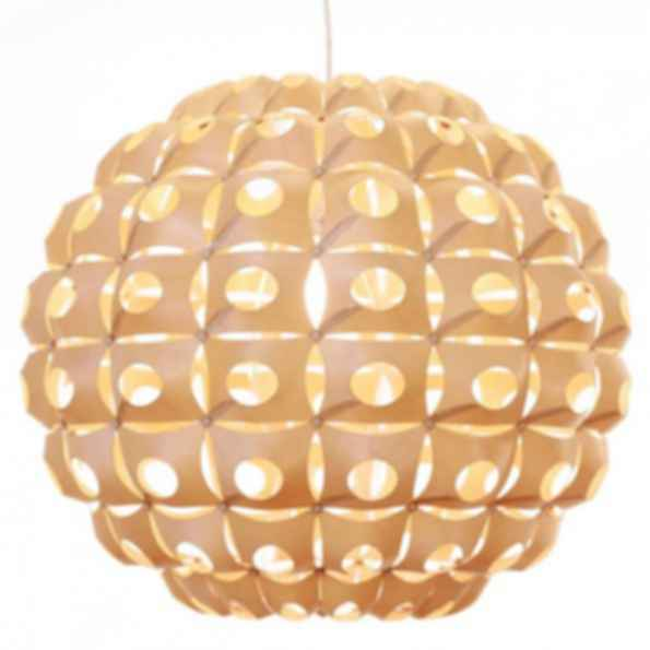 Urchin large round birch light
