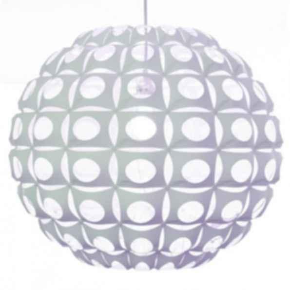 Urchin large round white light