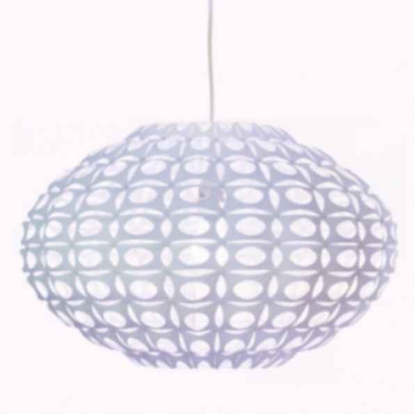 Urchin large flat white light