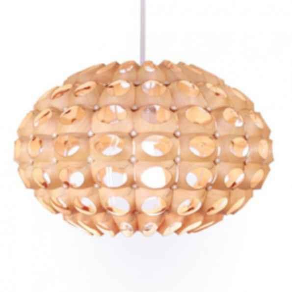 Urchin small flat birch light