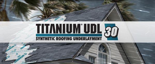Elegant Titanium UDL 30 Synthetic Roofing Underlayment   Modlar.com
