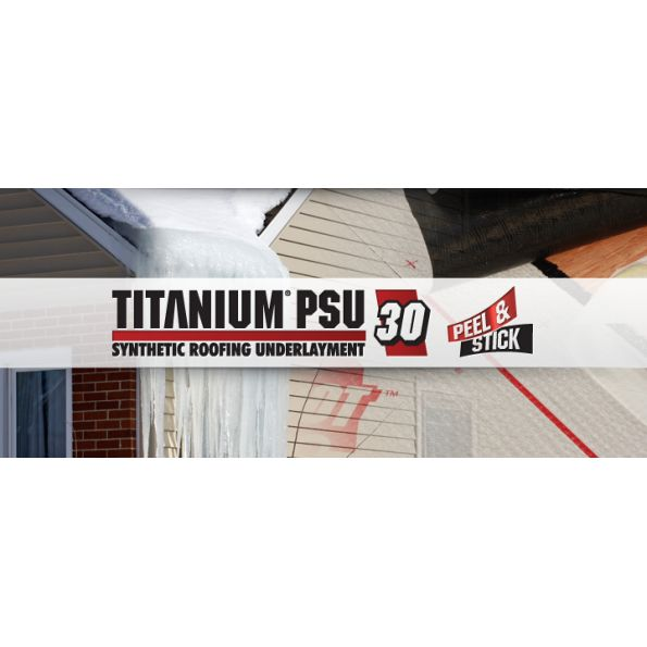 Anium Psu 30 Synthetic Roofing Underlayment