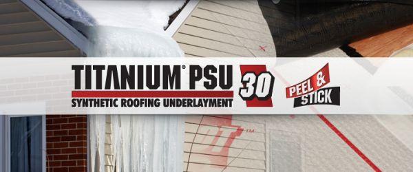 Titanium Psu 30 Synthetic Roofing Underlayment Modlar Com