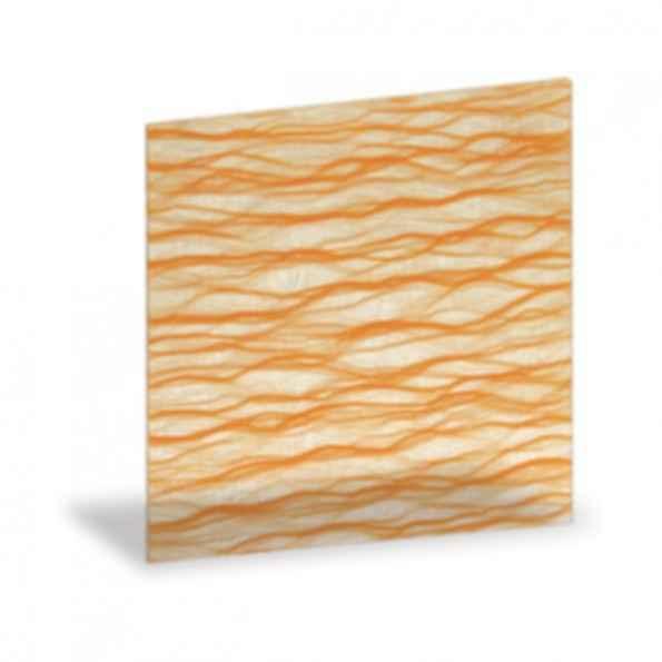 Meander Saffron Decor Sheet