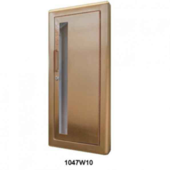 Cavalier Series - Decorative Bronze or Brass Fire Extinguisher Cabinet