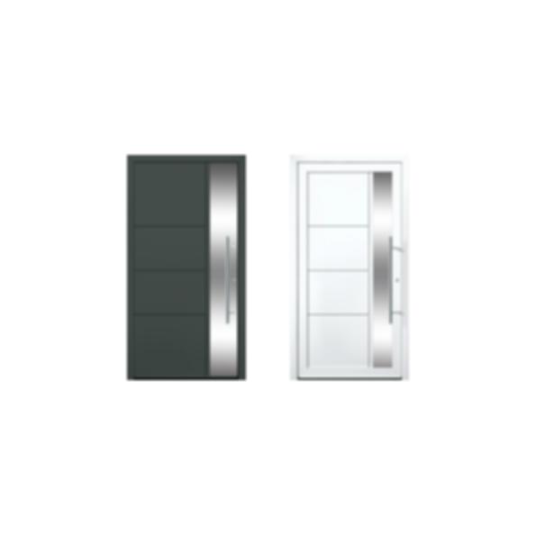 Modern Entry Door #12960