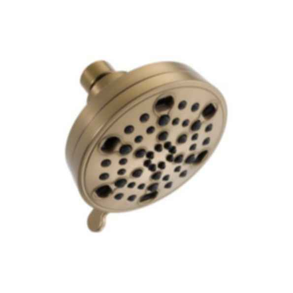 Delta 5 Setting Contemporary H20 Kinetic Showerhead 52638-CZ20-PK - Champagne Bronze