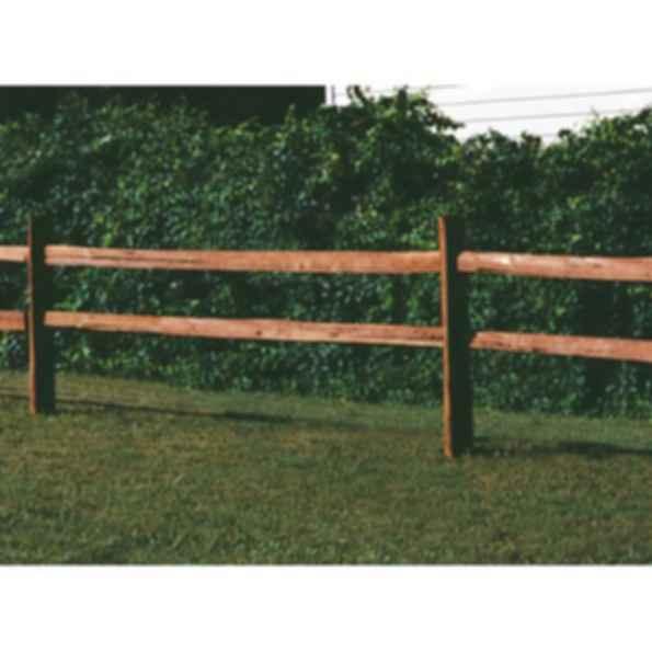 Ranch Rail Wood Fence