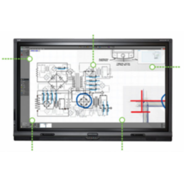 Smart Board 8000 series interactive flat panels