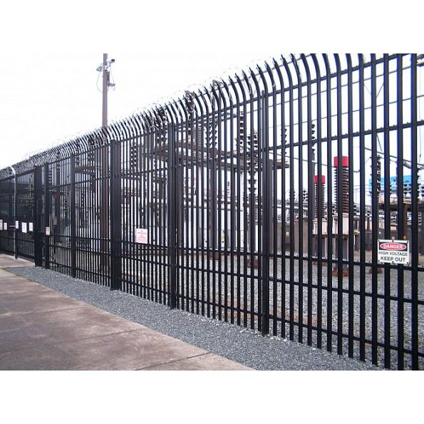 Impasse ii high security steel fence modlar