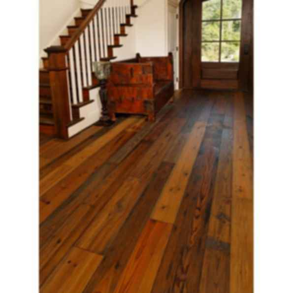 Prefinished Reclaimed Heart Pine