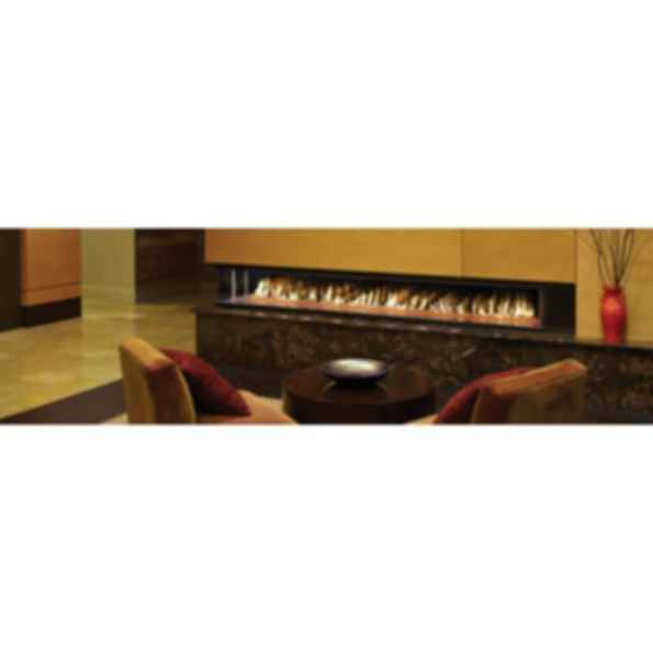 DaVinci Custom Linear Gas Fireplace