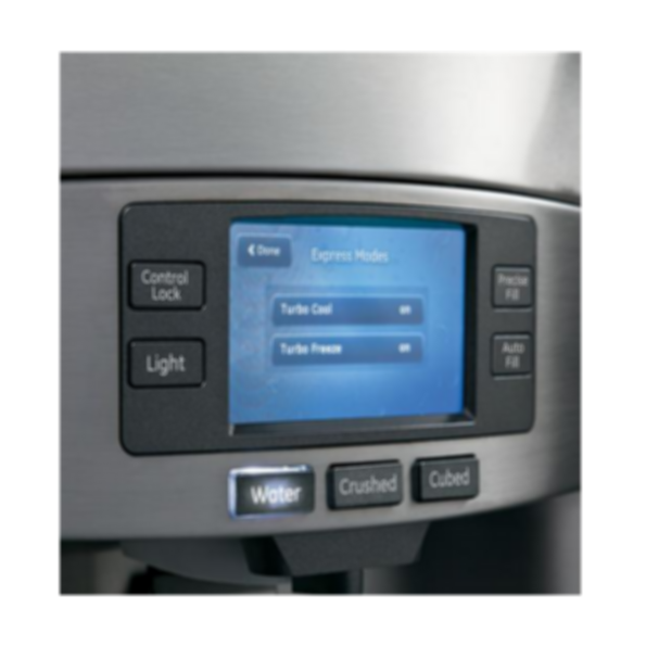 GE Profile™ Series ENERGY STAR® 22.1 Cu. Ft. Counter-Depth French-Door Ice & Water Refrigerator