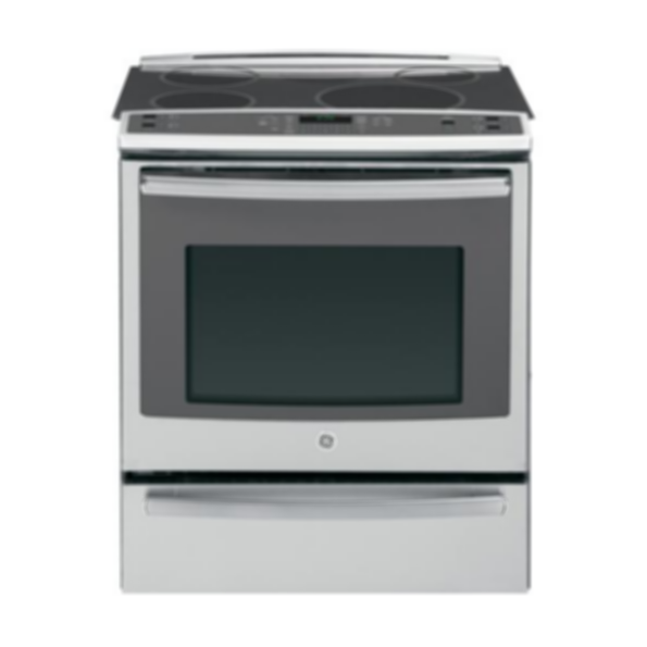"GE Profile™ Series 30"" Slide-In Induction and Convection Range with Warming Drawer"