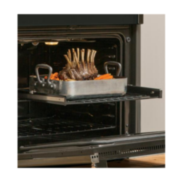 """GE Profile™ Series 30"""" Slide-In Induction and Convection Range with Warming Drawer"""