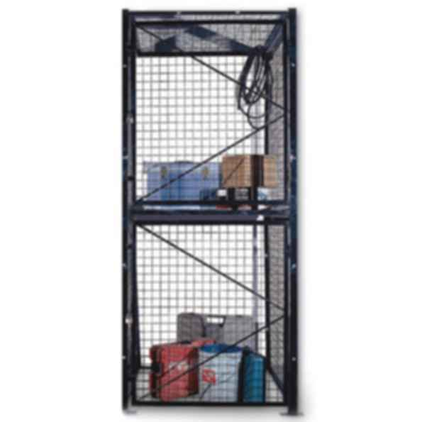Double Tier Wire Mesh Lockers