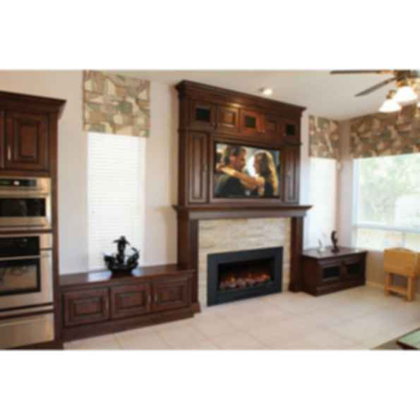 Electric Fireplaces Built-In ZCR Series