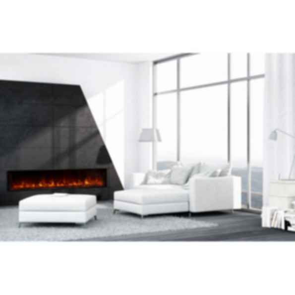Electric Fireplaces Built-In Landscape FullView 80
