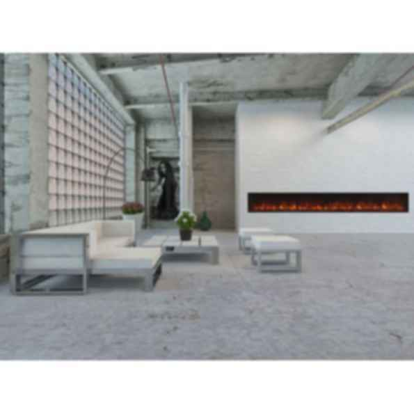 Electric Fireplaces Built-In Landscape FullView 120