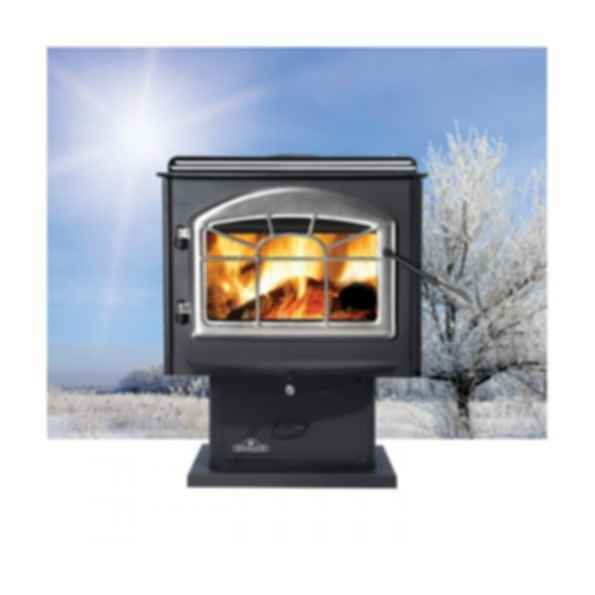 Wood Burning Stove - 1100 - Pedestal Model