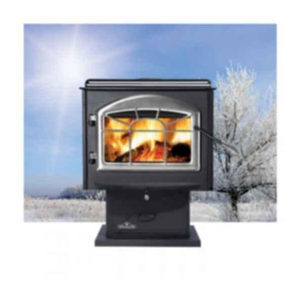 Wood Burning Stove - 1100 - Pedestal Model