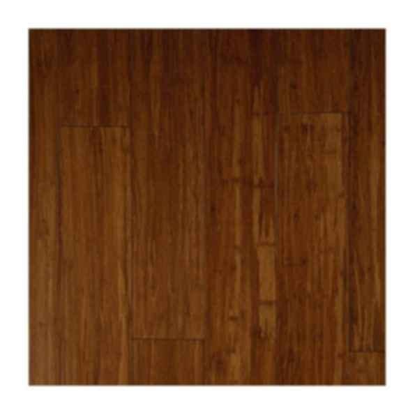 Strand Woven Bamboo Carbonized Bora Floor Finish Modlar Com
