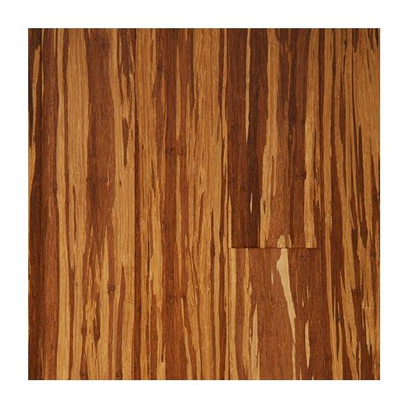 Strand Woven Bamboo Zebrano Charred Floor Finish Modlar