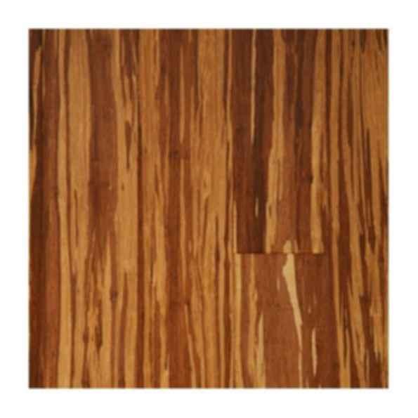 Strand Woven Bamboo Zebrano Charred Floor Finish