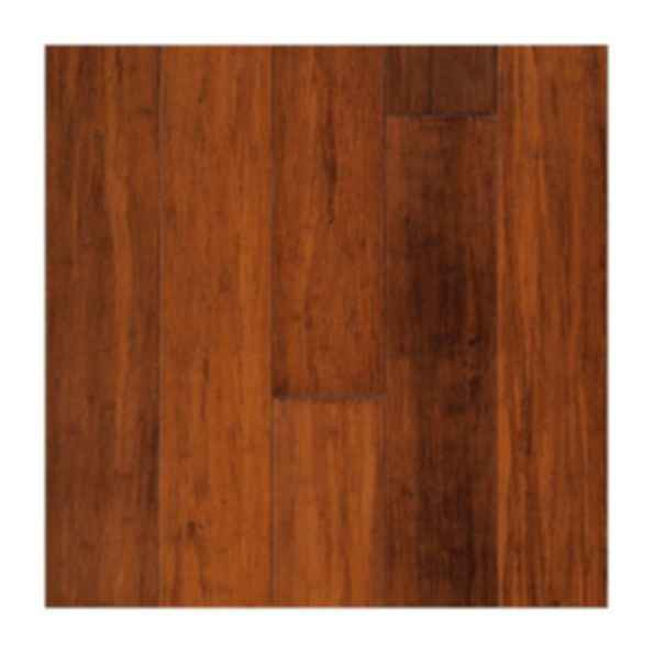 Strand Woven Hand-Scraped Bamboo Viper Floor Finish