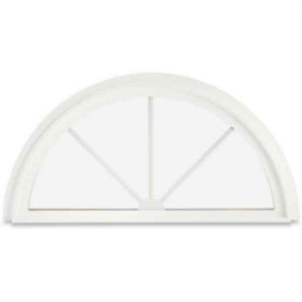 Integrity Wood-Ultrex Round Top Windows