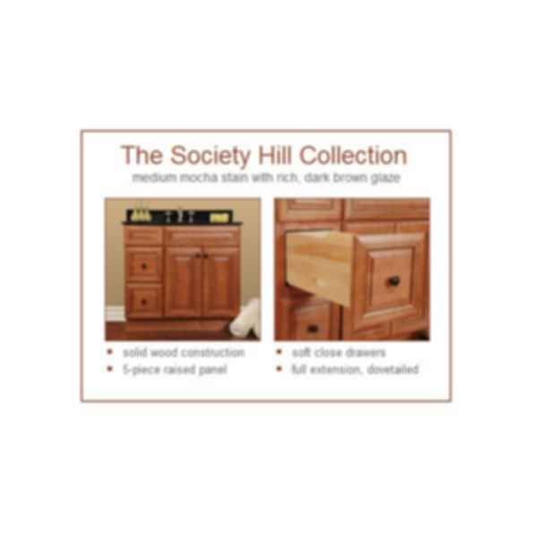 Society Hill Bathroom Cabinet
